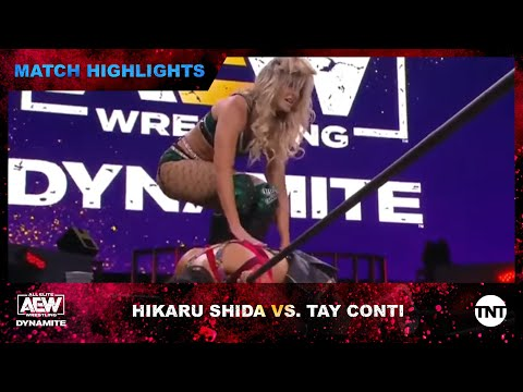 Hikaru Shida Defends Her AEW Females's World Championship Title From Tay Conti