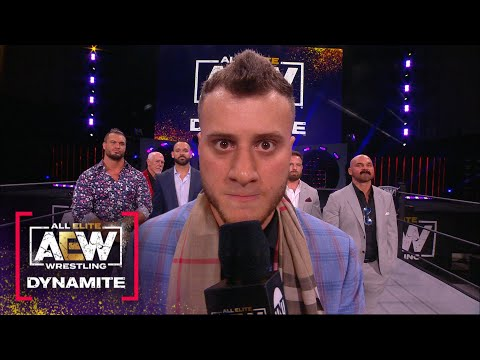 The Pinnacle Returns With a Message for the Internal Circle   AEW Friday Evening Dynamite, 6/11/21