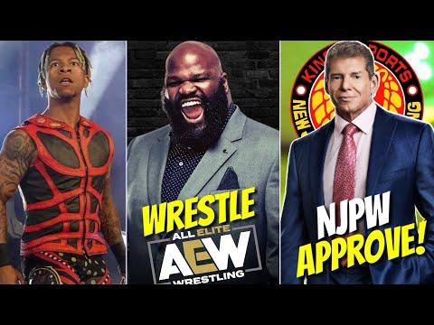 Price Henry Wrestling in Aew | | Tony Khan Apologies To Shida | | NJPW Approve Tony Khan Wwe Promo