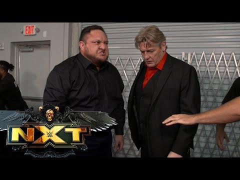 Samoa Joe puts Adam Cole out with the Coquina Clutch: WWE NXT, June 15, 2021