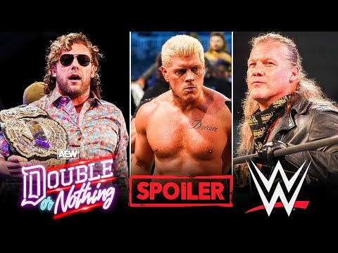 AEW Double or Nothing 2021 Spoilers 🙄   Cody Turning Heel   Jericho invited Aged WWE well-known person