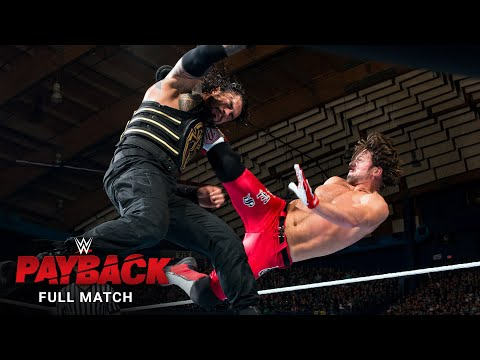 FULL MATCH – Roman Reigns vs. AJ Styles – WWE Title Match: WWE Payback 2016