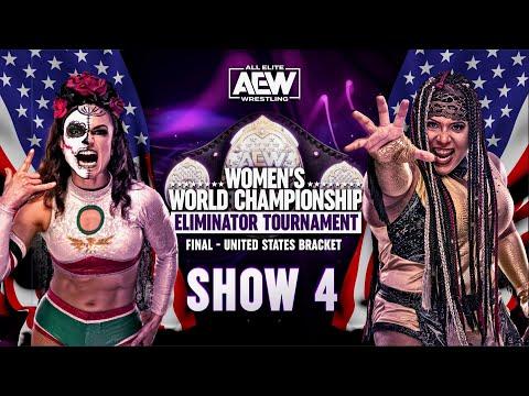 Yell Rosa v Nyla Rose – Final United States Bracket   AEW Females's Eliminator Tournament