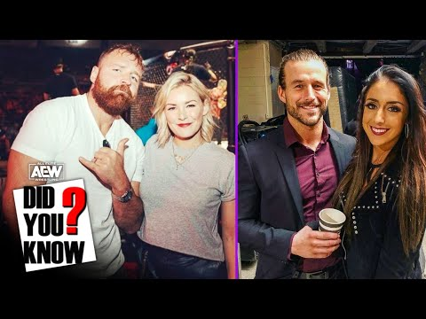 8 AEW & WWE Couples separated by companies 😯 || AEW Did You Know ? Episode 6.