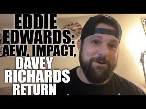 Eddie Edwards On Davey Richards Return, Kenny Omega, Baseball Bat   2021 Shoot Interview