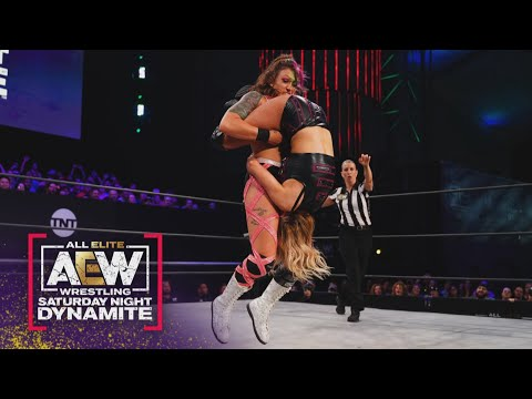 Used to be Kris Statlander In a field to Preserve-off the Bunny? | AEW Saturday Evening Dynamite, 6/26/21