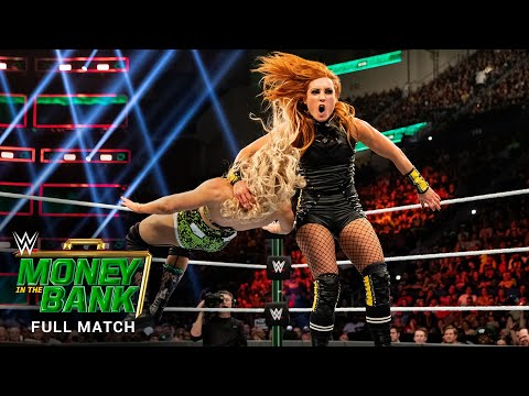 FULL MATCH – Becky Lynch vs. Lacey Evans – Raw Females's Title Match: WWE Money within the Monetary institution 2019