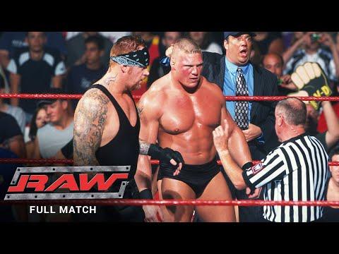 FULL MATCH – Take Van Dam & Ric Aptitude vs. The Undertaker & Brock Lesnar: Raw, July 15, 2002