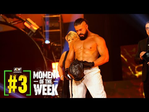 MUST SEE: Gape Andrade In Ring Debut in AEW   AEW Dynamite: Avenue Rager, 7/7/21