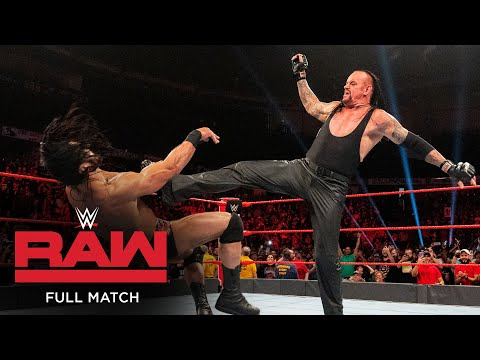 FULL MATCH – Roman Reigns vs. Shane McMahon & Drew McIntyre – Handicap Match: Raw, June 24, 2019