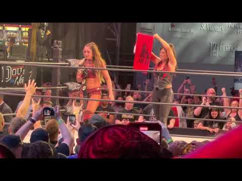 Are living Photos of Britt Baker A success the AEW Ladies's World Championship at Double or Nothing 2021