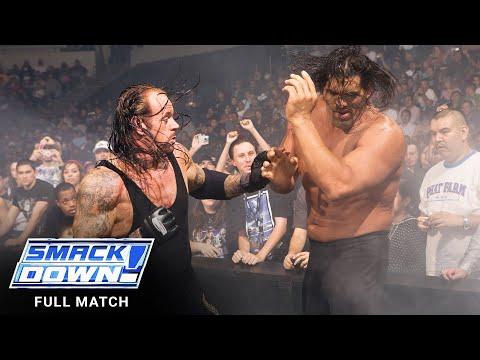 FULL MATCH – The Undertaker vs. The Mountainous Khali – No Holds Barred Match: SmackDown, Nov. 9, 2007