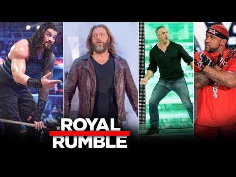WWE Royal Rumble 26 January 2020 – Closing-Minute Updates, 40 Man, Edge, MVP, Roman Reigns Highlights