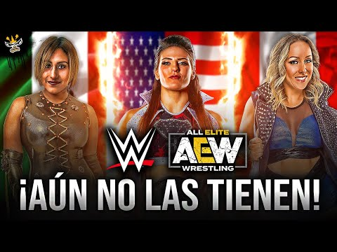 20 MEJORES Luchadoras que WWE y AEW aún NO TIENEN | ¡DEBERIAN CONTRATARLAS!