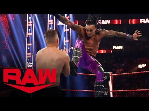 Damian Priest vs. The Miz: Raw, Aug. 16, 2021