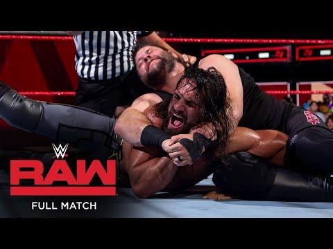 FULL MATCH – Seth Rollins vs. Kevin Owens – Intercontinental Title Match: Raw, Aug. 27, 2018