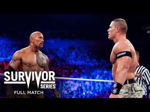 FULL MATCH – John Cena & The Rock vs. The Miz & R-Truth: Survivor Sequence 2011