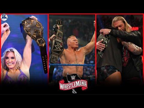 WWE Wrestlemania 36- 5 April 2020 Highlights Preview | Wrestlemania 36 5/04/2020 Highlights