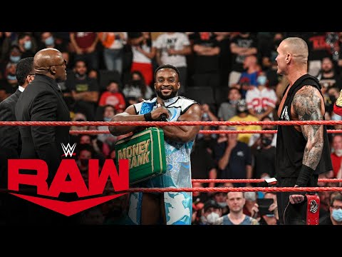 Enormous E taunts Bobby Lashley and Randy Orton with Money within the Bank contract: Uncooked, Sept. 13, 2021