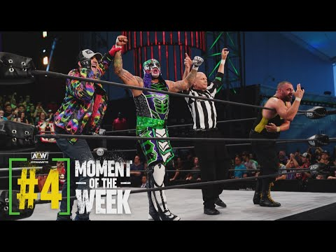 Penta & Kingston Were the First to Defeat the Younger Bucks in Nearly a Year | AEW Dynamite, 6/30/21
