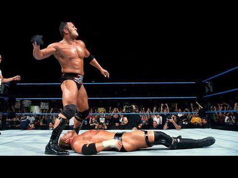 Triple H vs. The Rock – WWE Title Match: SmackDown, Aug. 26, 1999