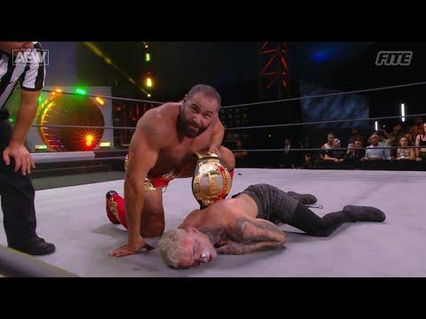 Miro Wins the AEW TNT Championship Belt on AEW Dynamite!