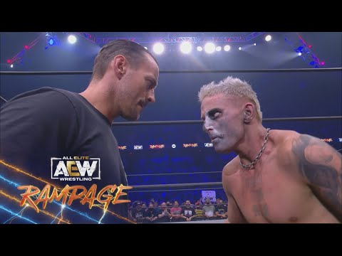What Went Down on the Final Stop Earlier than All Out Between CM Punk and Darby Allin | AEW Rampage, 9/3/21