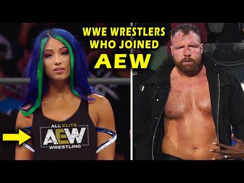 Every WWE Wrestler Who Joined AEW 2021 – Sasha Banks & Jon Moxley