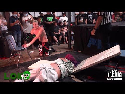 Dante Leon vs Chris Carter – Loko Wrestling Championship – Title Match Community