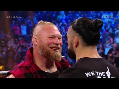 Brock Lesnar Attacks Roman Reigns & F5's The Usos | WWE SmackDown 1st Oct 2021 | Elephantine Segment
