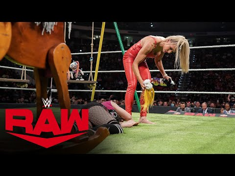 Charlotte Flair fully destroys her Charly doll on Alexa's Playground: Uncooked, Sept. 20, 2021