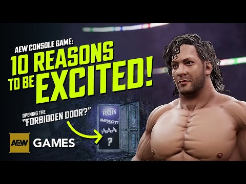 AEW Console Sport: 10 Reasons To Be Inflamed! 🚪