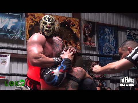 Mil Muertes vs El Cuervo de Puerto Rico – Loko Wrestling – Title Match Network