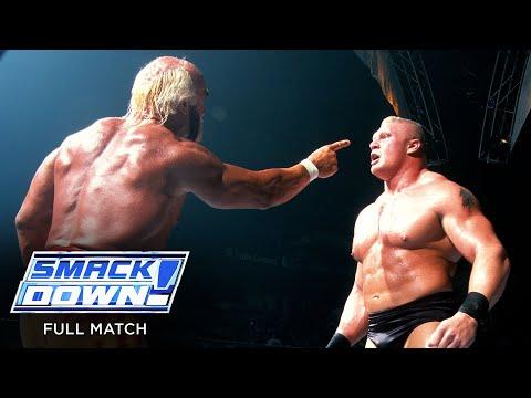 FULL MATCH — Hulk Hogan vs. Brock Lesnar: SmackDown, August 8, 2002