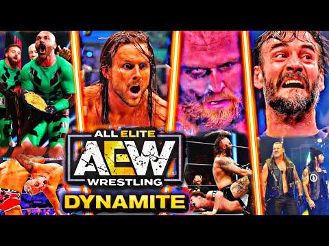 AEW Dynamite 16 October 2021 Highlights Fleshy HD – AEW Dynamite Highlights These days Explain 10/16/21