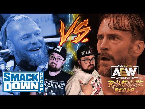 FRIDAY NIGHT WAR – WWE Smackdown vs AEW Rampage du 15 Octobre 2021