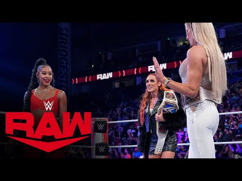 Becky Lynch, Bianca Belair and Charlotte Aptitude have a heated change: Raw, Oct. 4, 2021