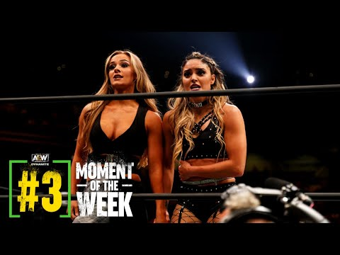 Anna Jay is aid and she or he made an Rapid Impression   AEW Dynamite 100, 9/1/21